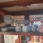 Galley plates / mugs cupboard (1)