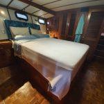 Master cabin - looking toward wardrobe and cupboard