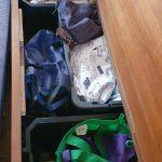 Saloon under bench storage