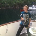 My son fishing (2014)