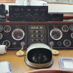 Pilot house instruments closer up