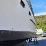 Before plimsoll line painted