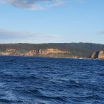 Rugged coastline between Second Point and Skillion