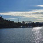 View to bridge and Estuary Restaurant
