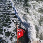 Flying our Australian Red Ensign Flag
