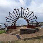 ANZAC memorial at Swansea