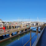 View across the Newcastle Cruising Yacht Club