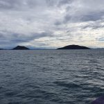 Islands as you approach Port Stephens