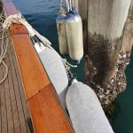 Many fenders to protect the boat