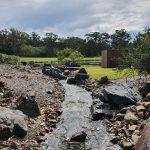 Creek near Japanese garden