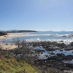 View along Sawtell Beach