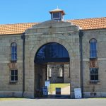Entrance to the gaol