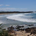 Popular surfing spot