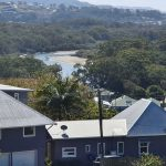 View of Coffs Creek from Beacon Hill lookout
