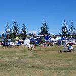 Local markets held every Sunday near the jetty