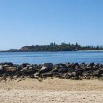 Another view of Yamba across the channel