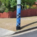 Tartan poles