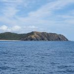 Cape Byron and the lighthouse.
