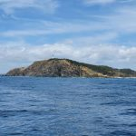 Passing Cape Byron.