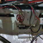 Bilge pump when newly installed.