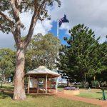 Rotunda at Tobruk Drive Lookout