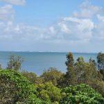 Brisbane Port in distance