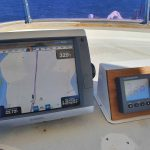 Following the route programmed into our Garmin.