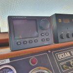 CM950 Control Head in situ in the pilot house.