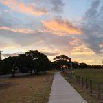 Sunsetting over Burnett River