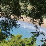 View down to Kemp Beach