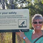 First safety sign