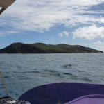 Approaching Hexam Island