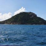 Passing Alnwick Island going to Hexam Island