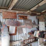 Memorabilia in the shed