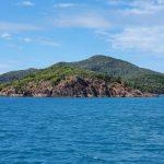 Rounding Shaw Island