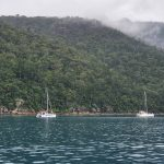 Moorings north western side of Whitsunday Island