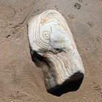 Interesting rock on the beach