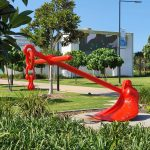 Anchor at East Shores, Gladstone
