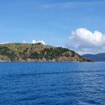 Views of islands near Airlie Beach