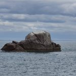 Small rock formation just off Cape Upstart