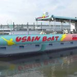 Usain Boat - OK, I had to get this off the internet!