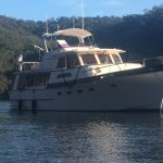 Moored at Joe Craft's Creek, Berowra Waters