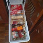 Galley pantry - deep slide out drawers