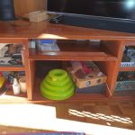 Entertainment unit storage