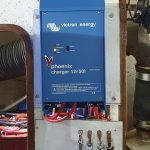 Engine room Victron battery charger