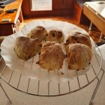 Cooked up some scones to go with my t (G&T that is!)