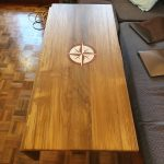 Table with drop leaf down