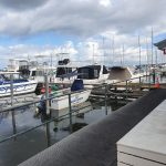 Marks Pt Marina, may not have a berth available but do have swing moorings