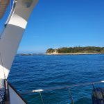 Marine Rescue, Lake Macquarie and glimpse of Green Island