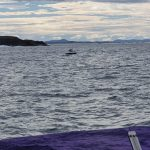 Boat fishing off Boondelbah Island